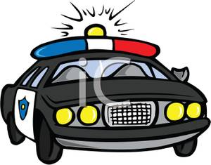 Siren Clipart Cartoon Police Car Royalty Free Clipart Picture 100102
