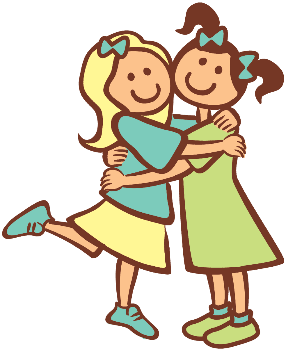 Two Friends Clipart - Clipart Suggest