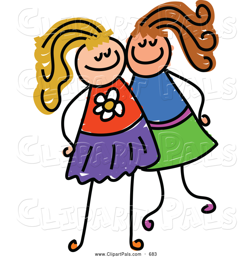 Two Friends Clipart   Clipart Panda   Free Clipart Images