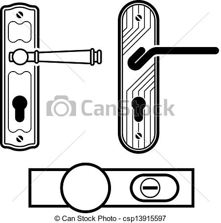 Door Handle Clipart - Clipart Kid