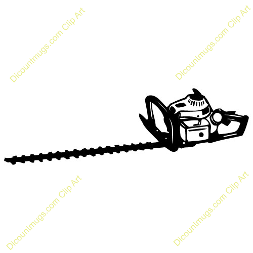 Weed Eater Clipart Hedge Trimmer