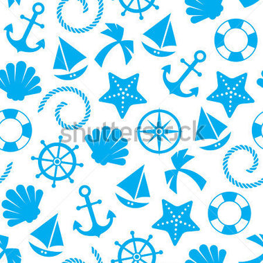 Browse   Sports   Recreation   Nautical Seamless Pattern Background