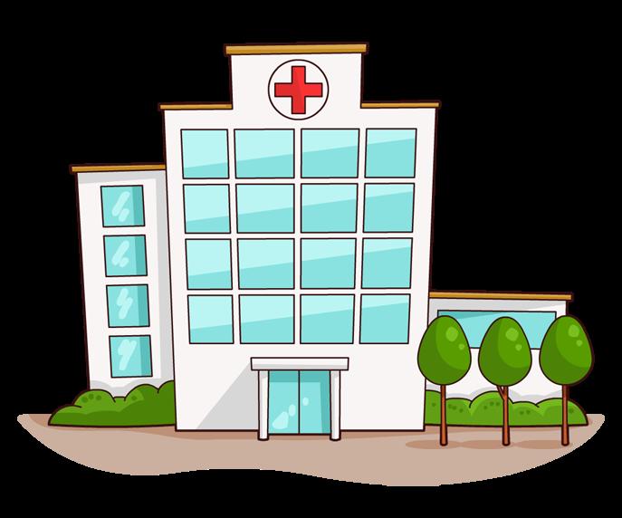 Medical Building Clipart - Clipart Kid