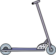 Clipart Scooter Pro sc...