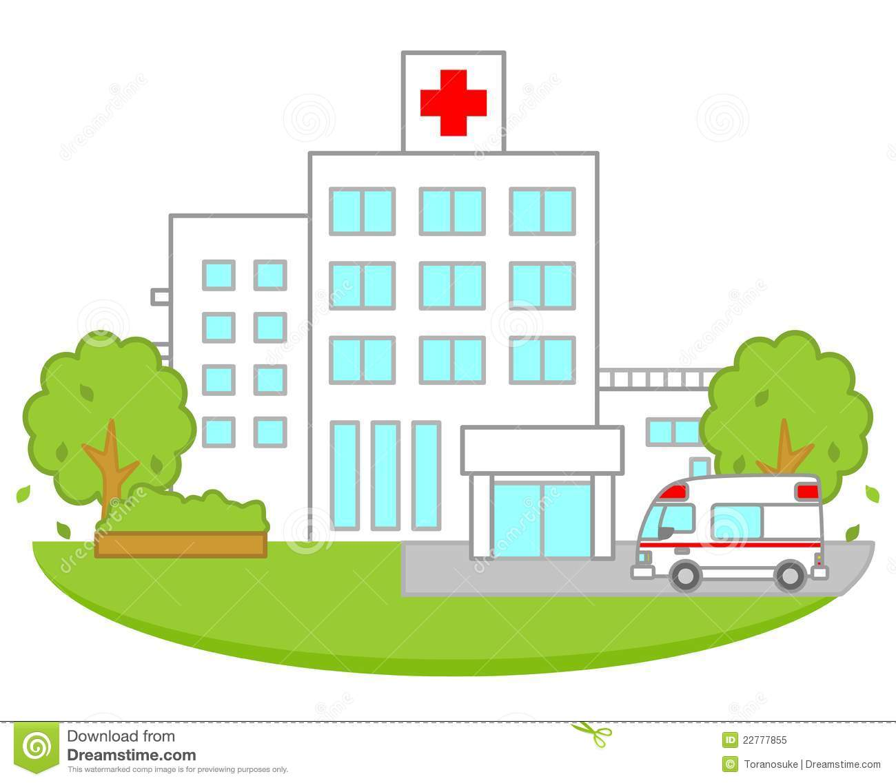 Medical Building Clipart - Clipart Suggest