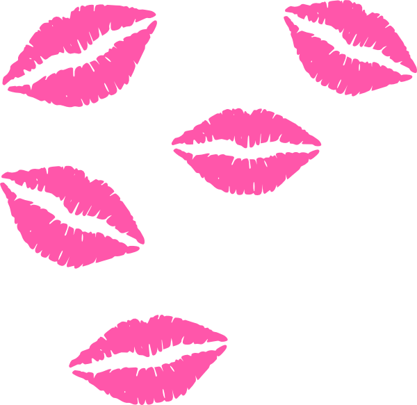 Light Pink Lips Clipart - Clipart Suggest