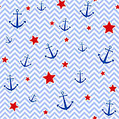 Nautical Background Pattern Design Illustrations And Clipart