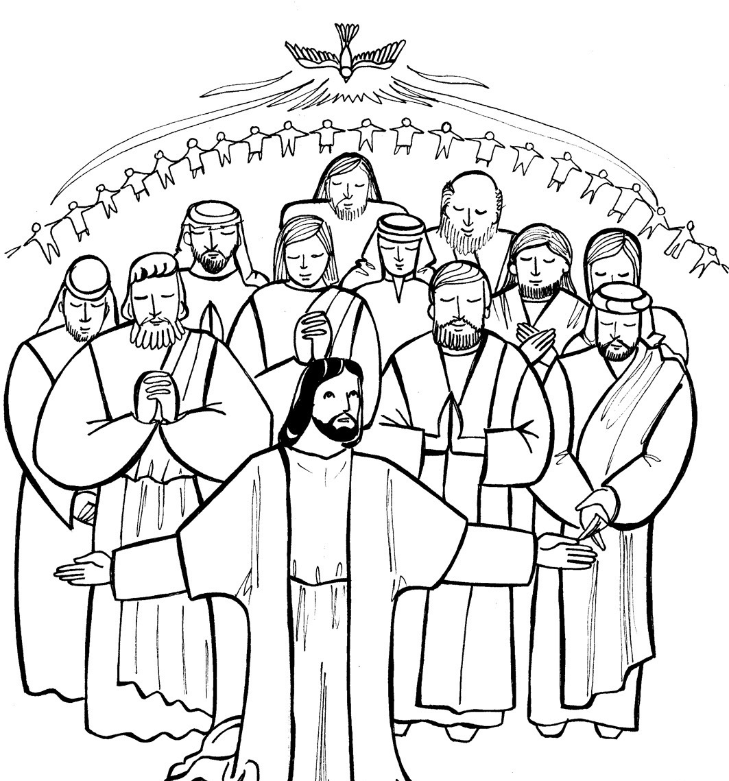 Catholic Saints Clipart - Clipart Kid