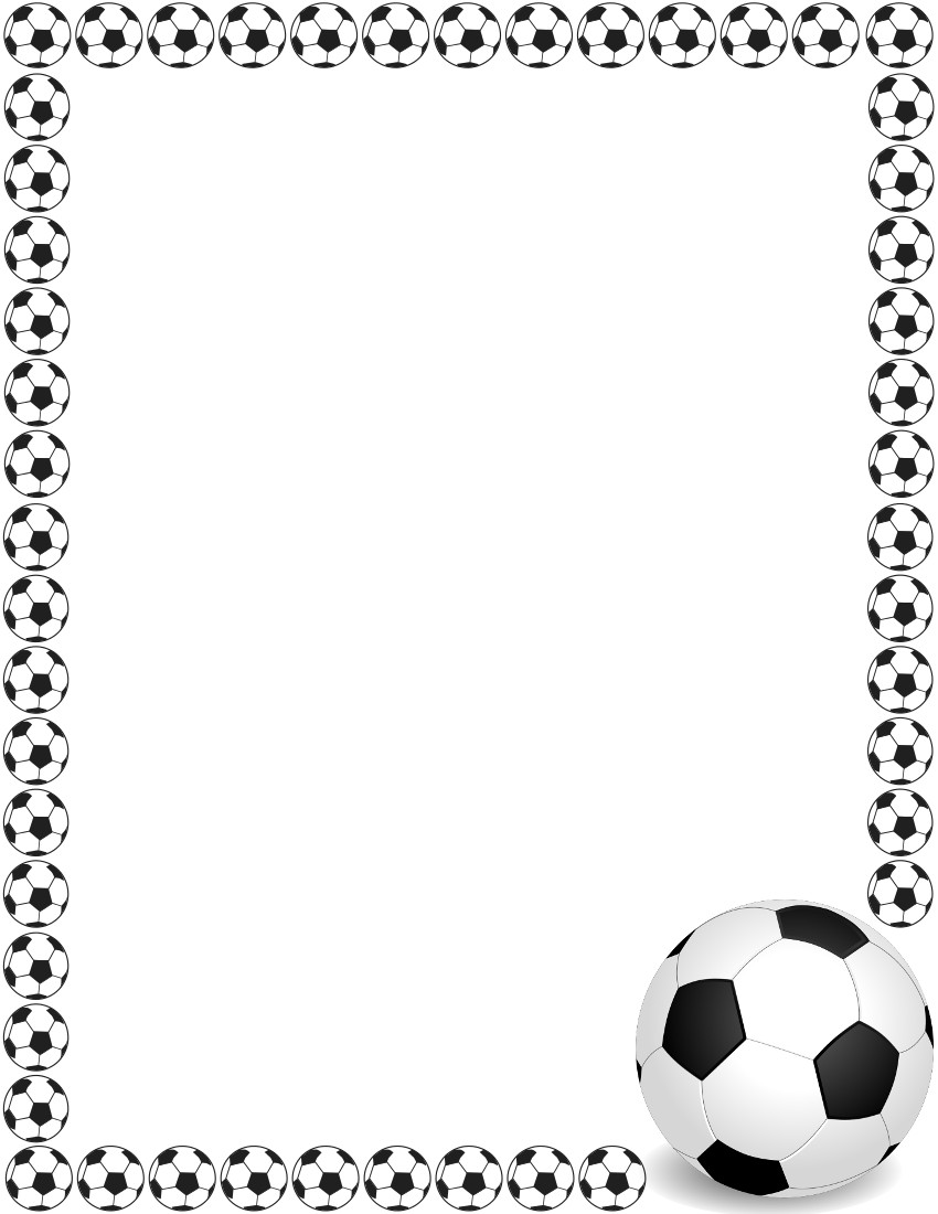 Soccer Border 2   Http   Www Wpclipart Com Page Frames Sports Sports 2