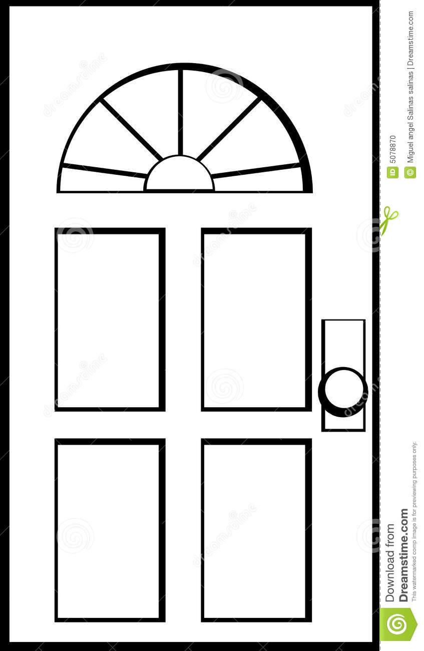Clip Art Cartoon Door Clipart Clipart Suggest