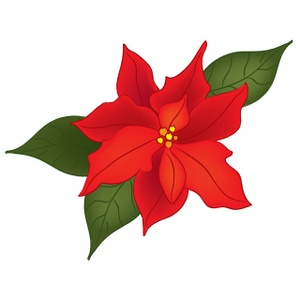 14 Christmas Flowers Clip Art Free Cliparts That You Can Download To