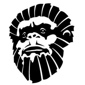 Angry Gorilla Face Clipart