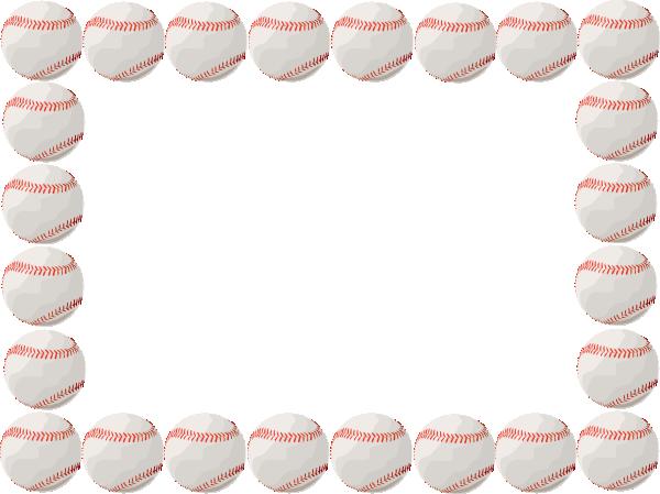 Baseball Borders Clipart - Clipart Kid