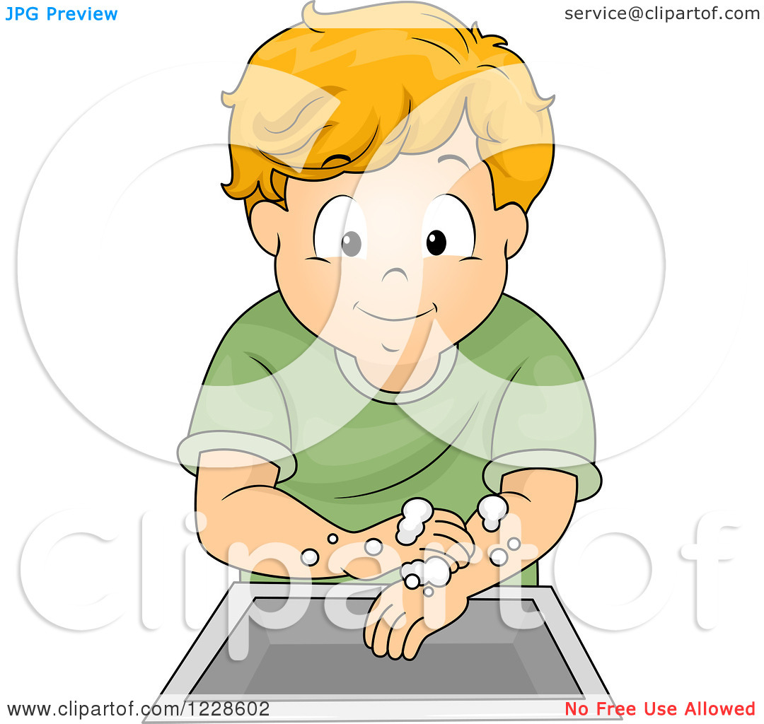 Boy Washing Face Clipart - Clipart Kid