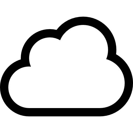 Cloud Outline   Free Interface Icons