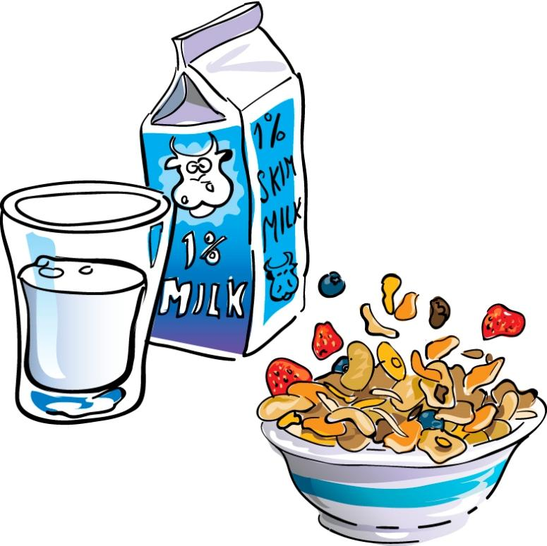 Clipart Of A Girl Eating