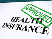 Health Insurance Approved Form Shows Successful Medical Applicat