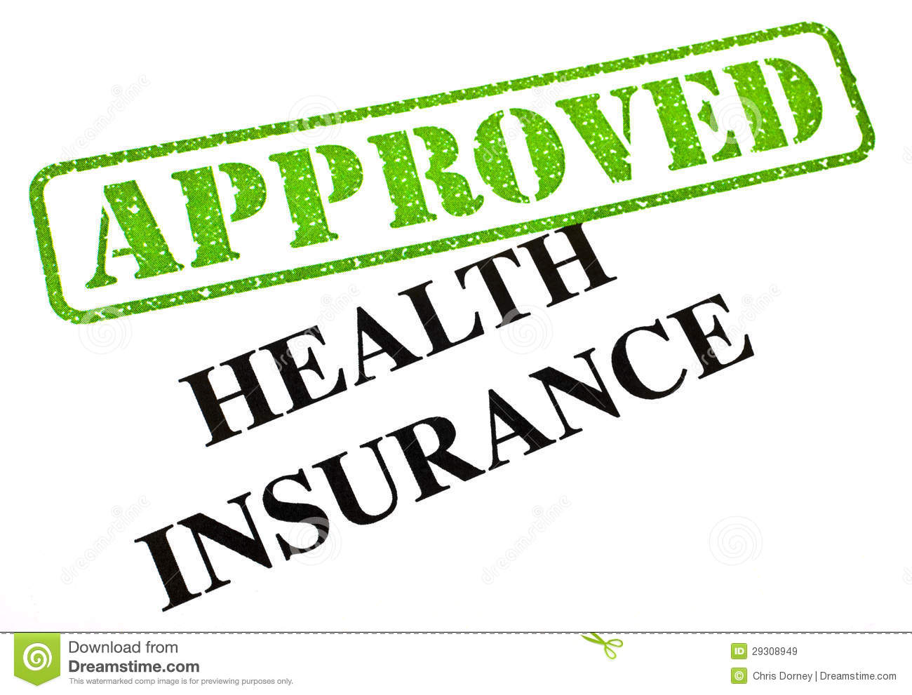 Health Insurance Approved Royalty Free Stock Images   Image  29308949