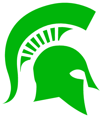 Michigan State Spartans Logo Free Vector Logos   Vector Me