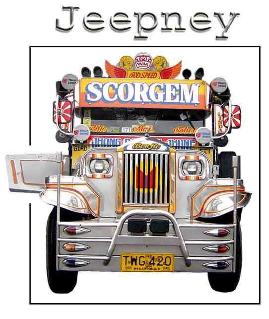 The Philippine Jeepney  The Undisputed King Of The Road   By Godofredo