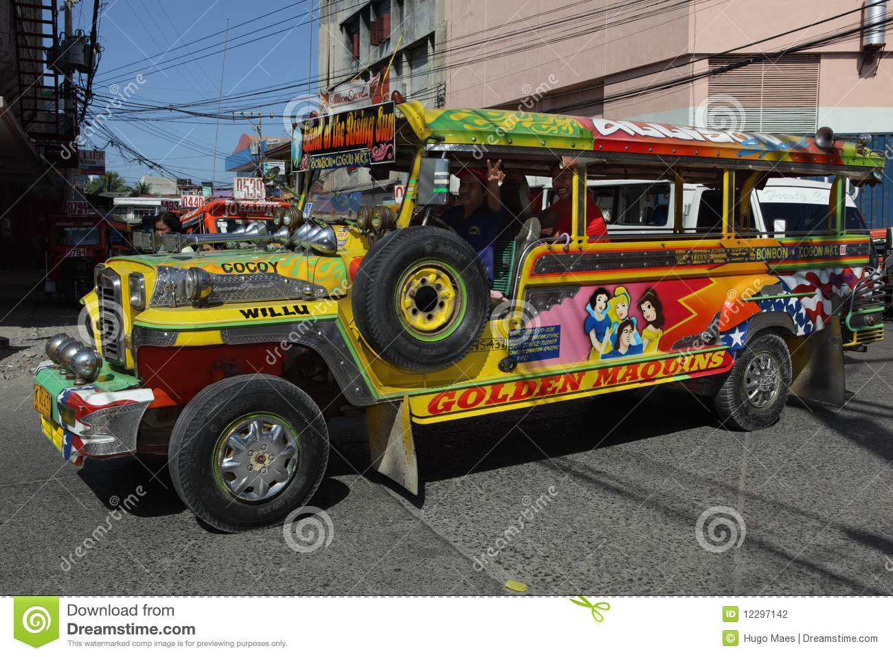 Urban Southern Filipino Jeepney Editorial Photography   Image