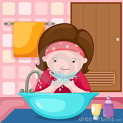Boy Washing Face Clipart - Clipart Suggest