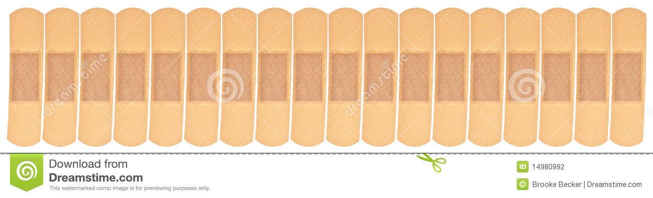 Bandaid Border Band Aid Border Or Background