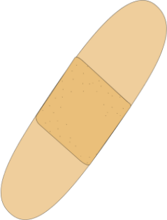 Bandaid Clip Art   Vector Clip Art Image Of A Bandaid