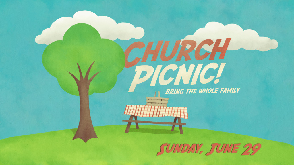 Baptisms And Church Picnic July 12