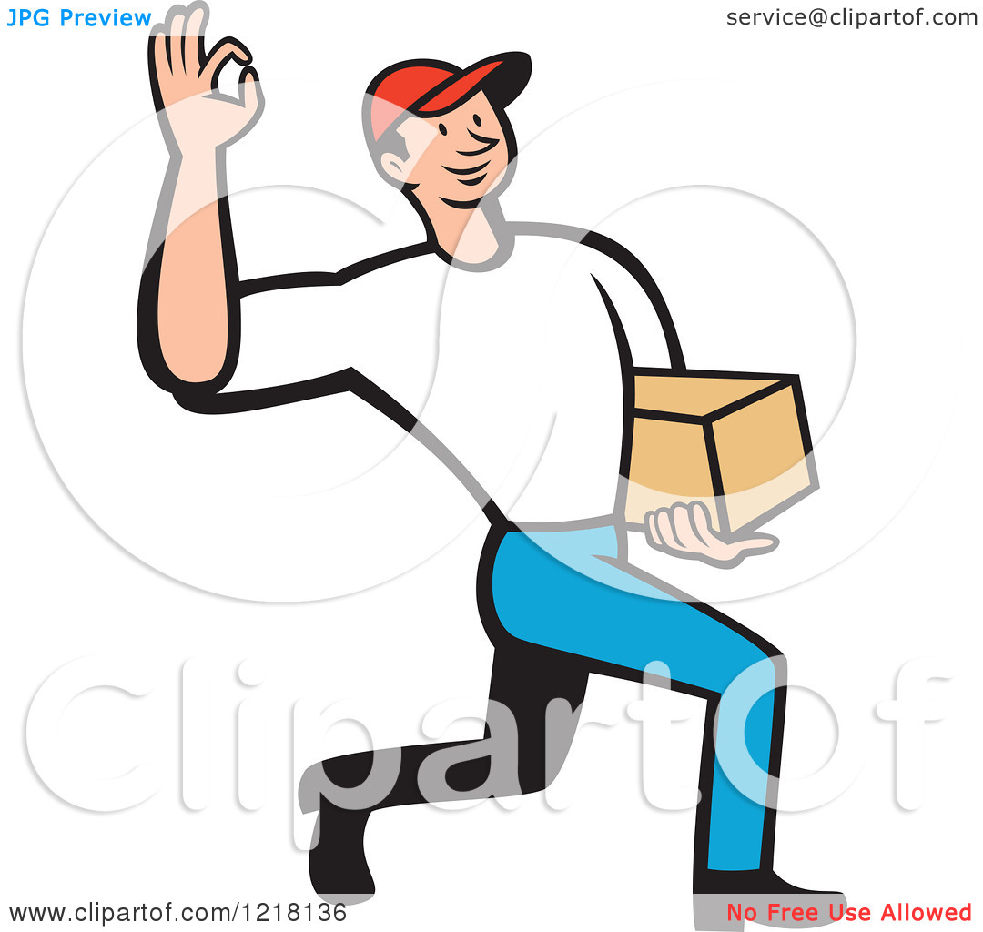 Package Delivery Clipart - Clipart Kid Package Delivery Clipart