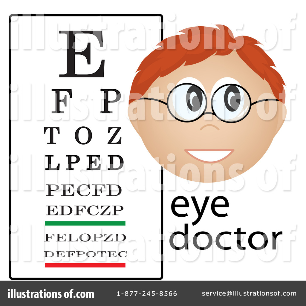 Eye Chart Clipart Illustration By Pams Clipart   Stock Sample  84839