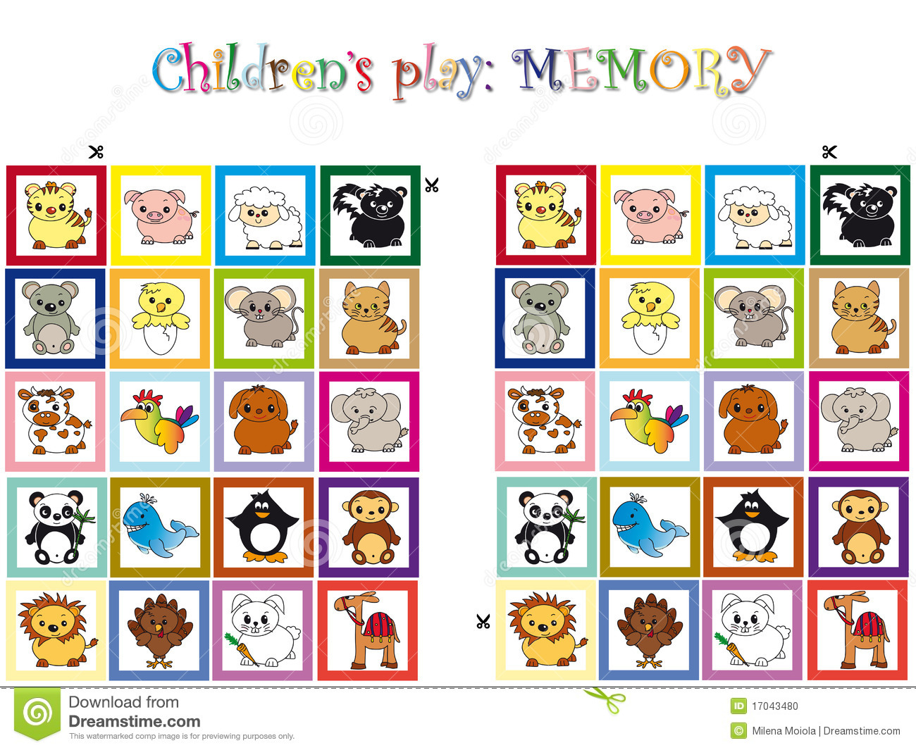 Memory Card Game Clipart - Clipart Kid