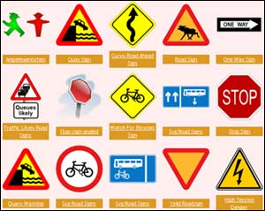 Funny Road Signs Clipart - Clipart Kid