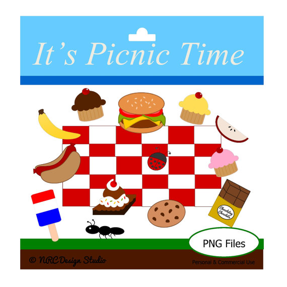 Items Similar To 70  Off Picnic Clipart  Summer Clip Art  Personal And