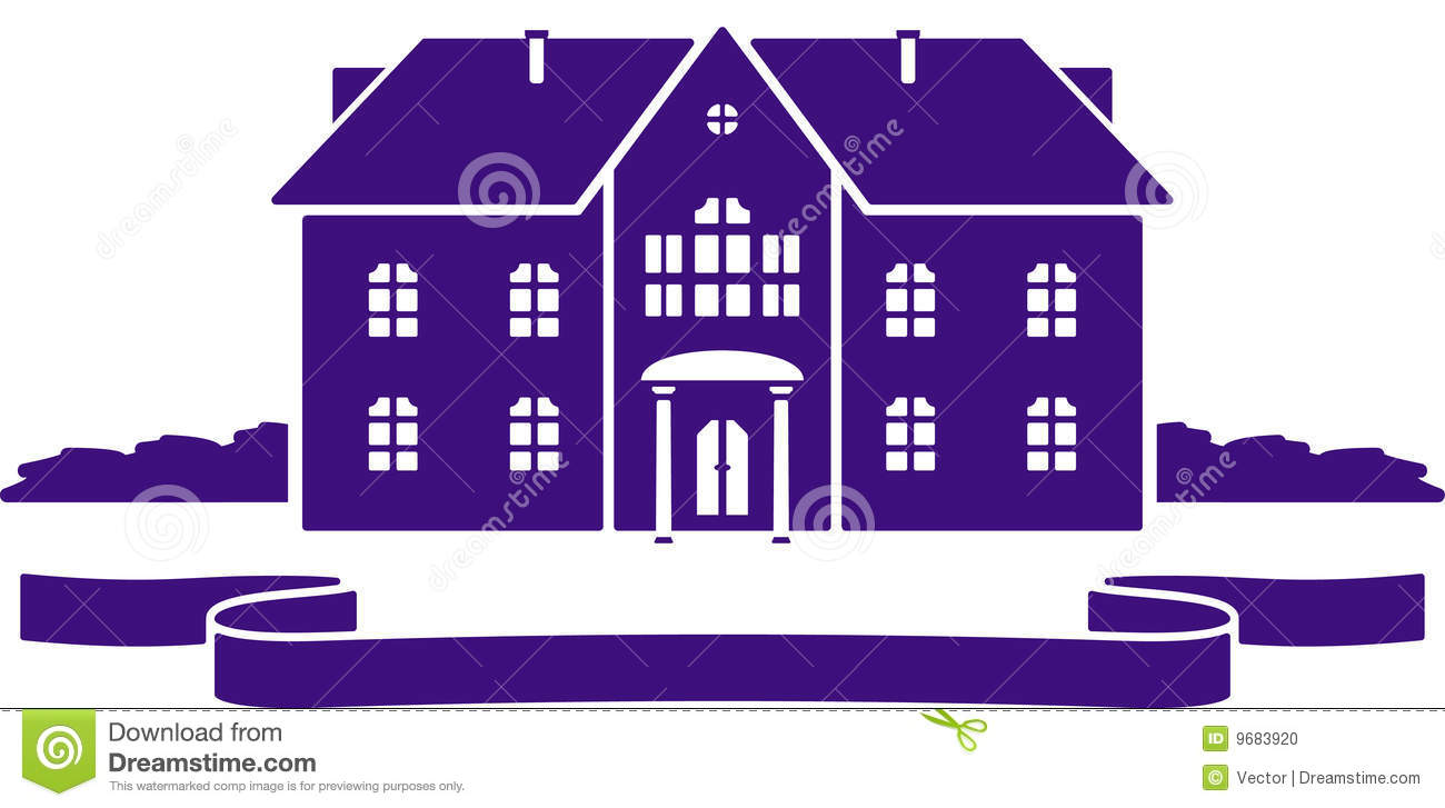 Mansion Clipart Vector House Mansion