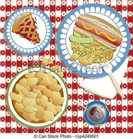 Picnic    Csp4249501   Search Clipart Illustration Drawings And Eps