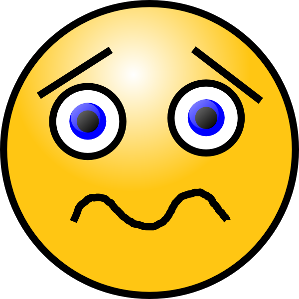 Shocked Sad Face Clipart - Clipart Suggest
