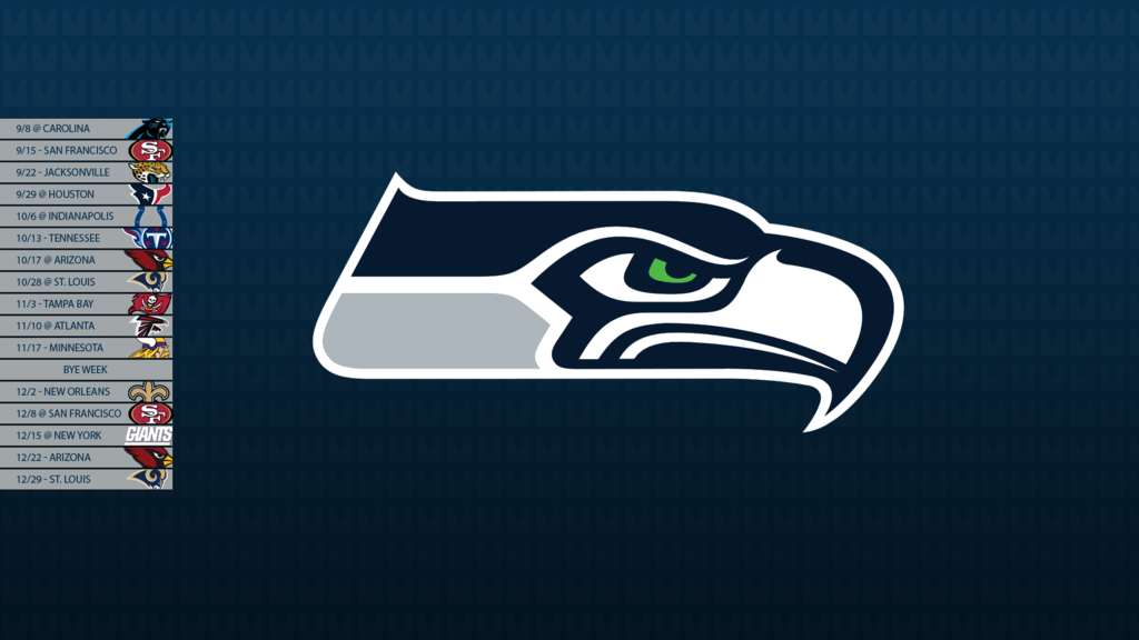 Seattle Seahawks 2013 Schedule Wallpaper By Sevenwithat On Deviantart
