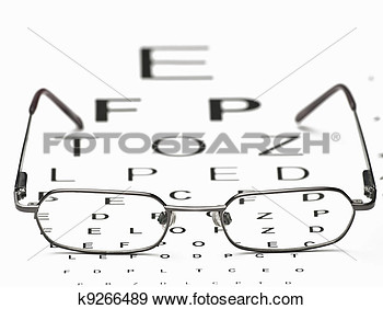 Stock Photograph   Distance Vision Test  Fotosearch   Search Stock
