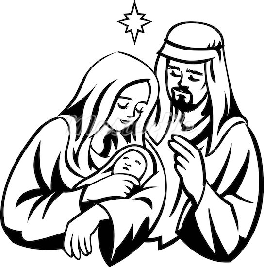 Lds Jesus Mary Clipart - Clipart Kid