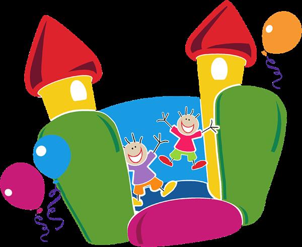 Clip Art Bounce House Clipart bounce house clipart kid fun birthday invitations