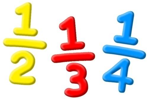 Fraction Symbols Clipart - Clipart Kid