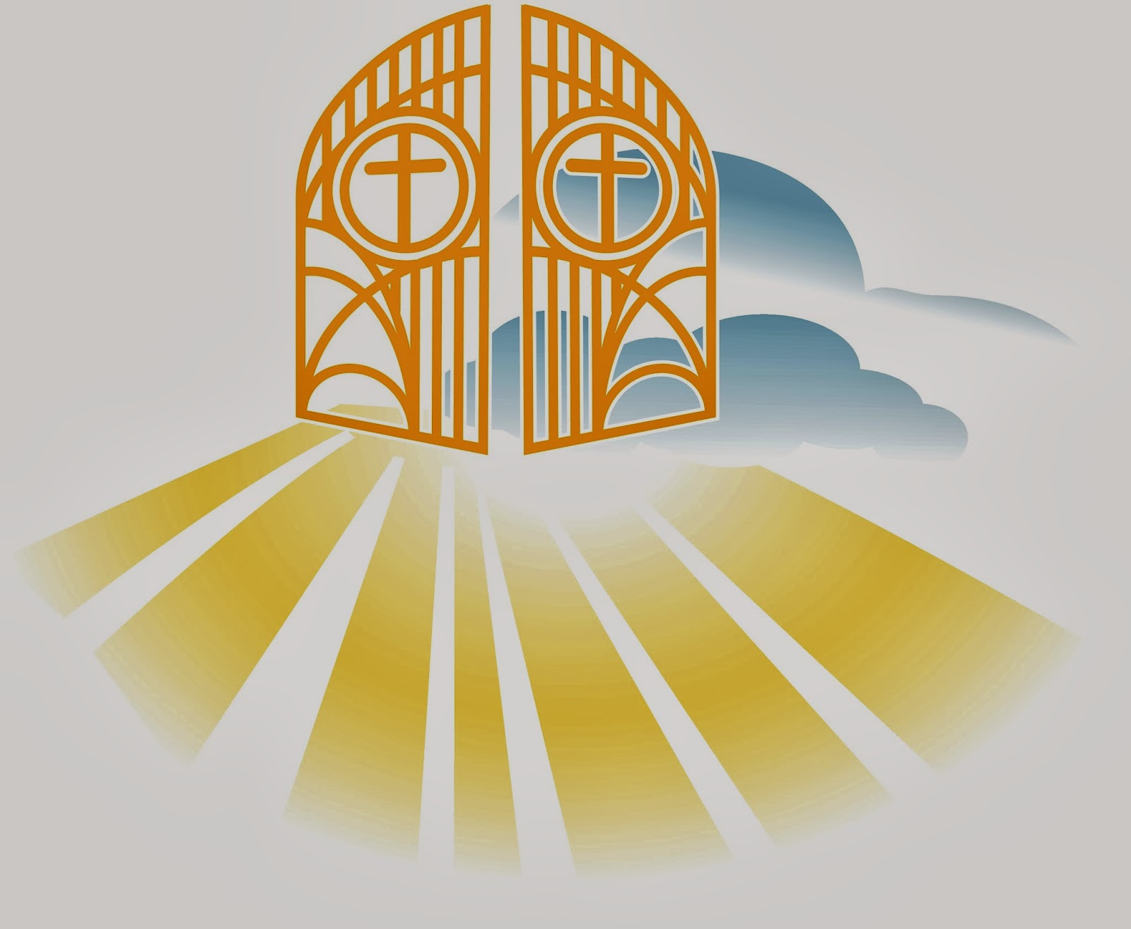 Gates Of Heaven Clipart - Clipart Suggest Pearly Gates Of Heaven Clipart