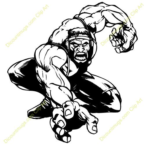 Clip Art Wrestler Clipart wrestling logos clipart kid grunt panda free images