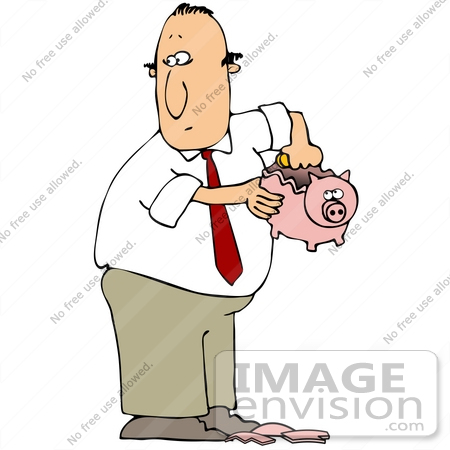 Money Stealing Clip Art