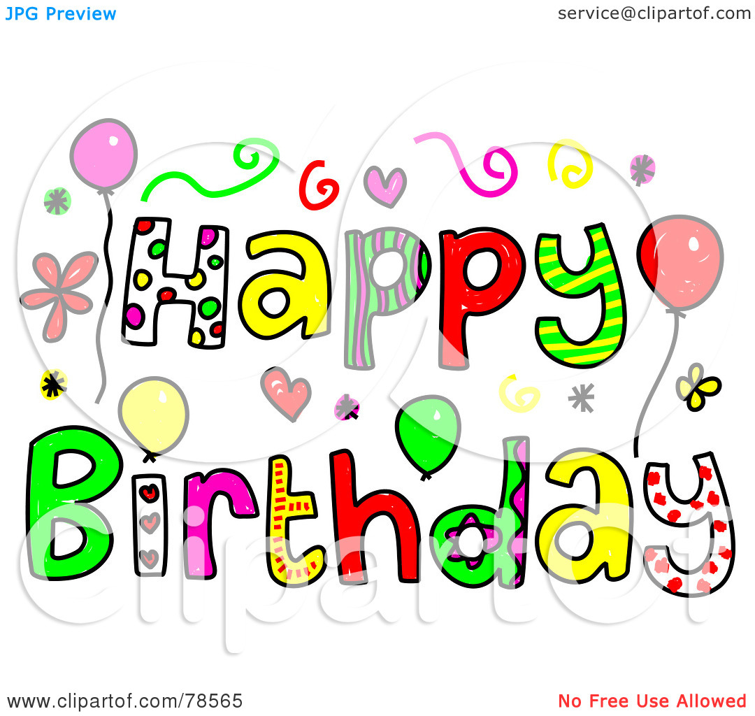 Birthday Sisters Clipart - Clipart Kid