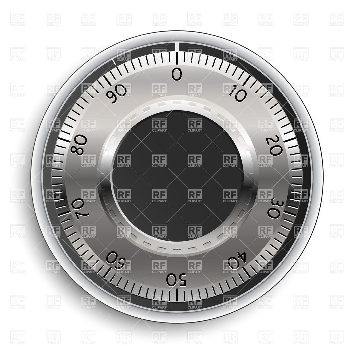Safe Combination Lock Download Royalty Free Vector Clipart  Eps