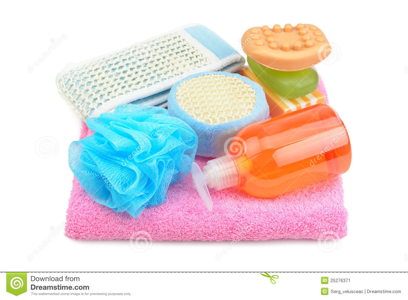 Shampoo And Soap Clipart Towel Soap Shampoo And