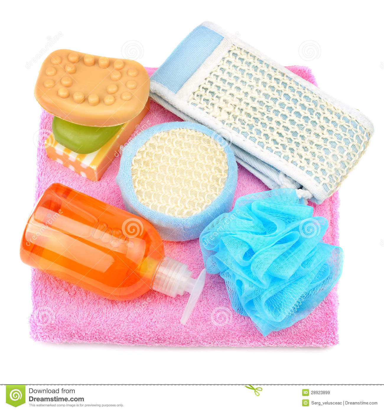 Shampoo And Soap Clipart Towel Soap Shampoo Sponge