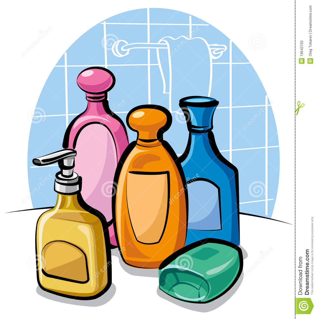 Shampoo And Soap Stock Photo   Image  19642150